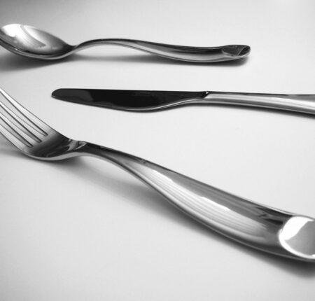 """Blocky"" cutlery set"