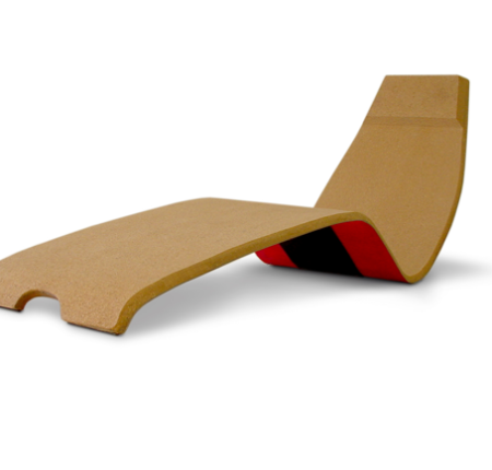 """""""Whippy"""" cork chaise lounge"""